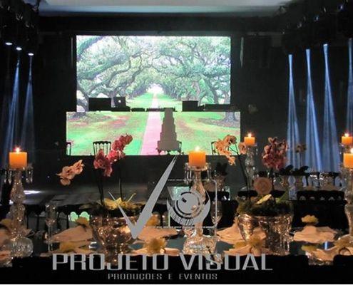Painel de Led Projeto Visual 8
